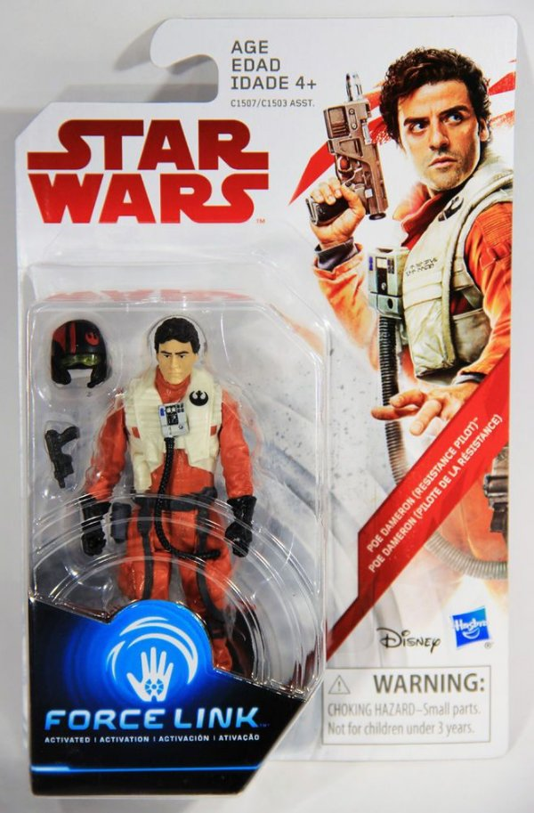 Force Link - Star Wars - Poe Dameron (Resistance Pilot)