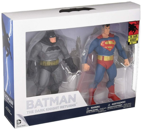 2Pack Batman and superman The Dark Knight returns Aniversary