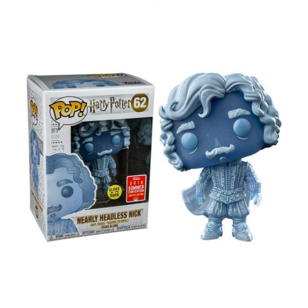 Funko pop - Harry Potter: Nick Quase Sem Cabeça (Exclusivo SDCC 2018)