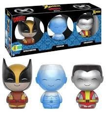 3 Pack X-Men -  Wolverine, Iceman, Colossus