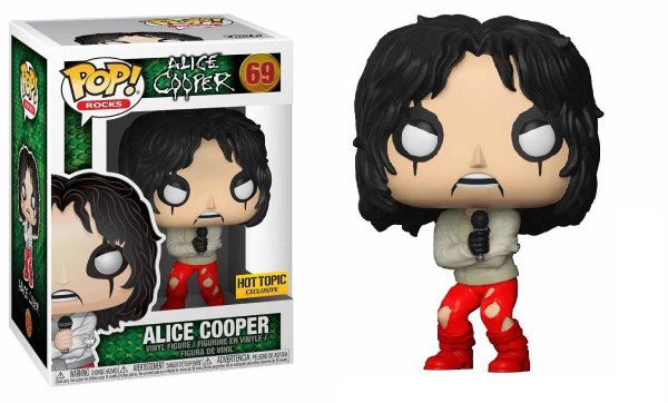 Funko Rocks: Alice Cooper (excl. Hot Topic) Nº 69