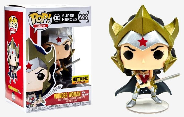 Funko  Wonder Woman from Flashpoint (excl. Hot Topic) 238