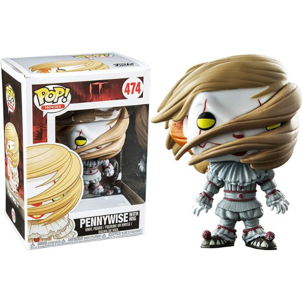 Funko IT: Pennywise with Wig (excl. Wallmart) Nº474