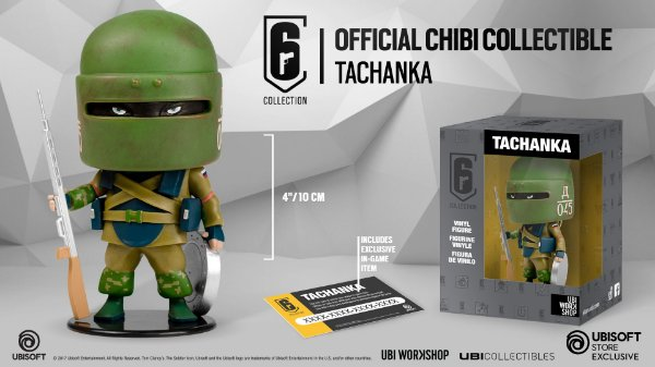 R6 Rainbow Six: Tachanka