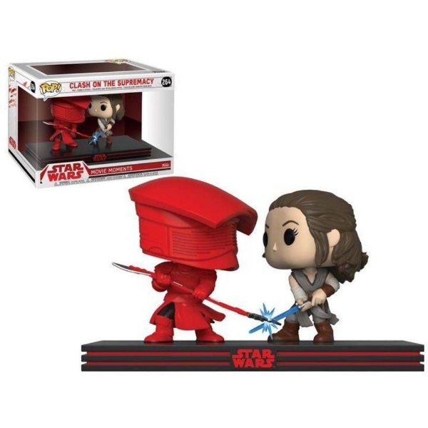 Funko Pop - Star Wars: Movie Moments -  Rey vs Praetorian Guard