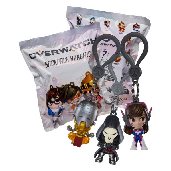 Blizzard - Backpack Hangers: Overwatch Tracer