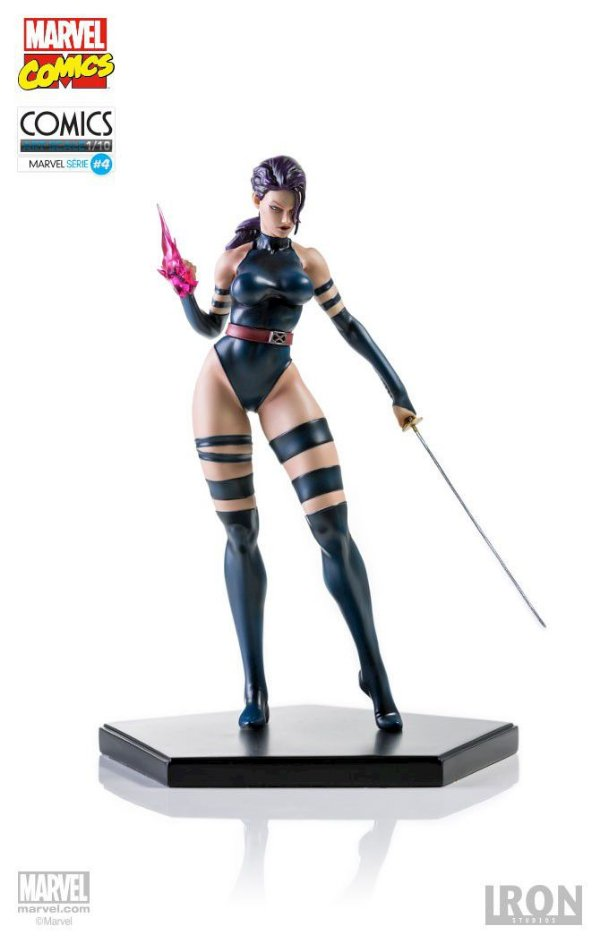 Iron Studios - X-men: Psylocke Art Scale 1:10 - Exclusiva