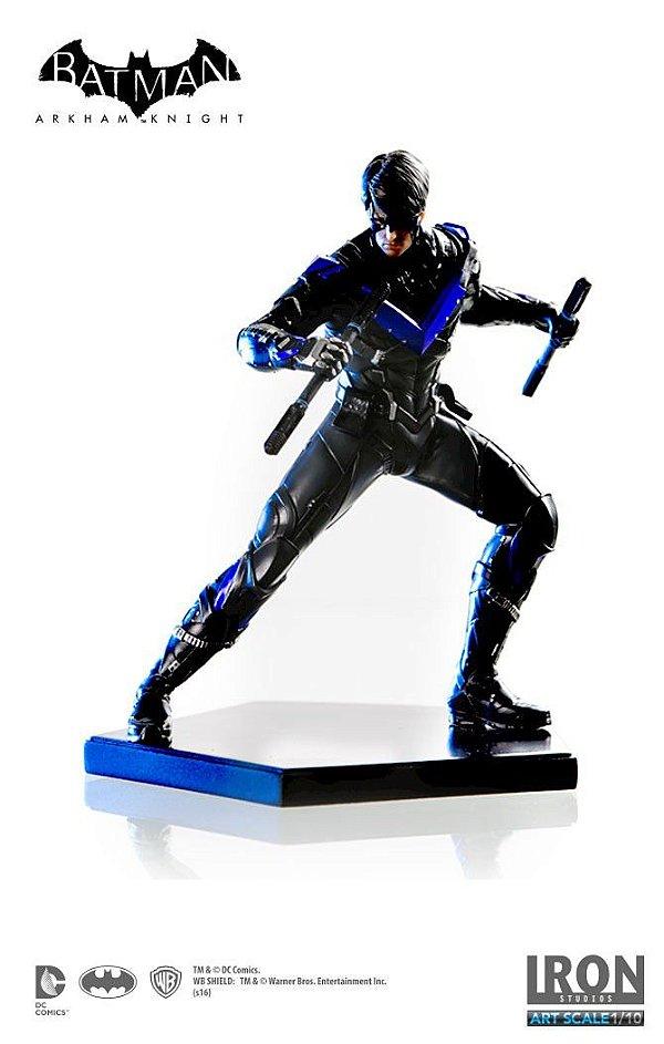 Iron Studios-Batman Arkham Knight: Nightwing Art Scale 1:10