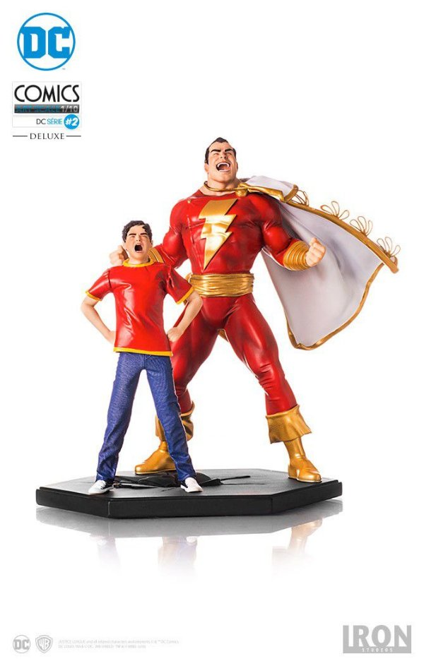 Iron Studios - Shazam: Shazam Art Scale 1:10 - Exclusivo