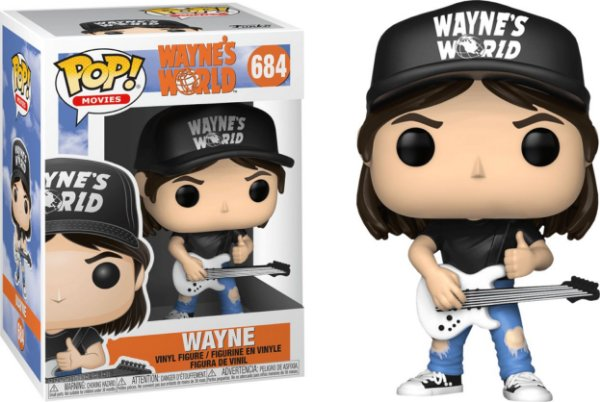 Funko Pop - Wayne's World: Wayne - Nº 684