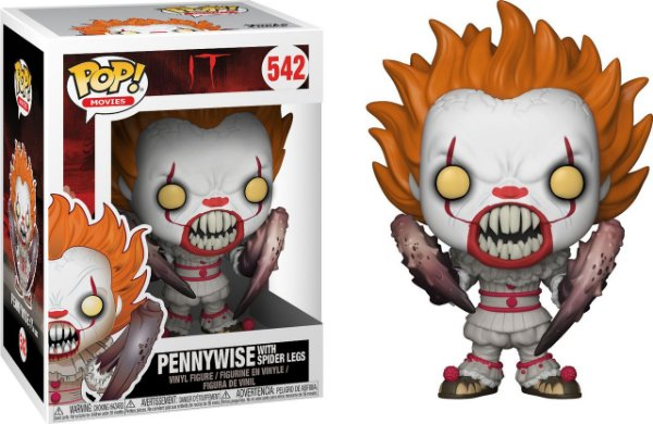 Funko IT: Pennywise with Spider Lags Nº 542