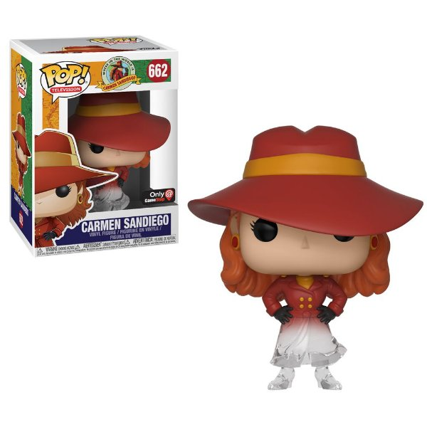 Funko Carmen Sandiego (Excl. Game Stop)  Nº 662