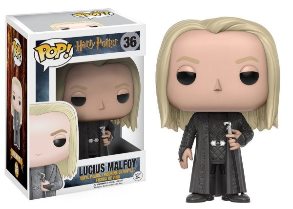 Funko Pop - Harry Potter: Lucius Malfoy - Nº 36