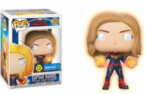 Funko pop - Captain Marvel: Captain Marvel (excl. Wall Mart) - Nº 432