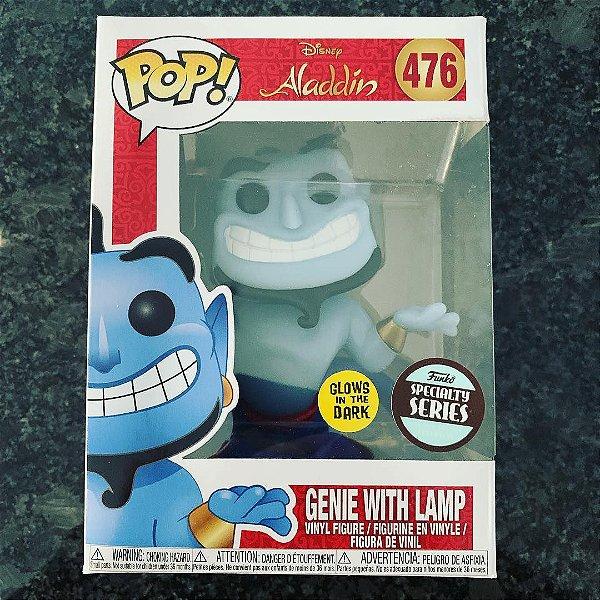 Funko pop - Disney Aladdin: Genie with Lamp (exclusivo Special Series) - Nº 476