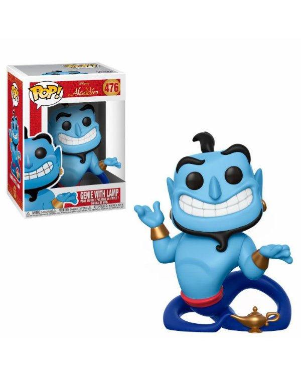 Funko Aladdin: Genie with Lamp (excl.Special Series) Nº476