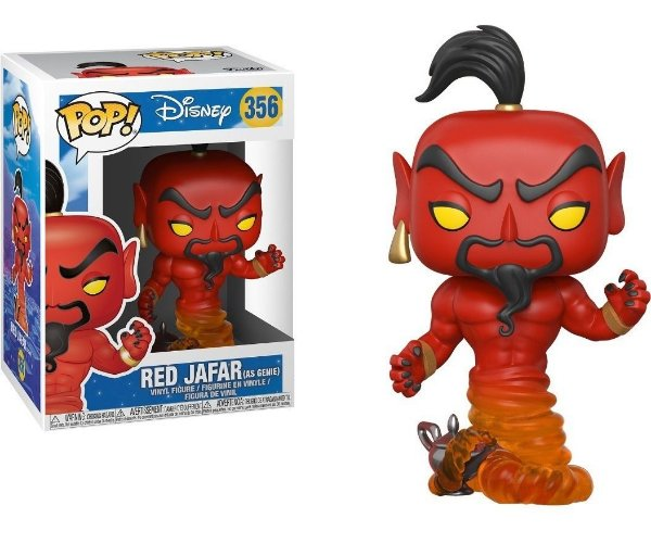Funko Disney Aladdin: Red Jafar as Genie  Nº356