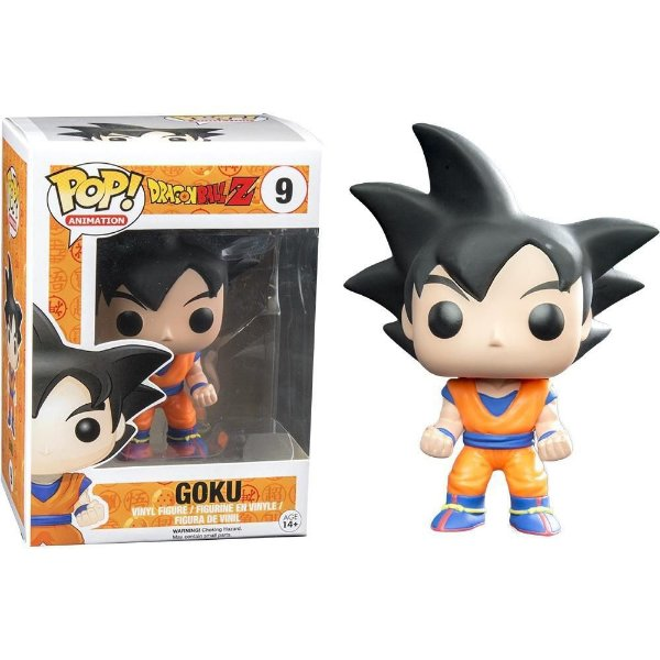 Funko DBZ: Goku (excl. Hot Topic) Nº 9