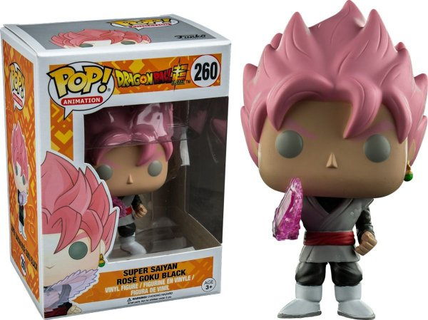 Funko Pop Dragon Ball Z: Saiyan Rose (excl. Hot Topic) 260