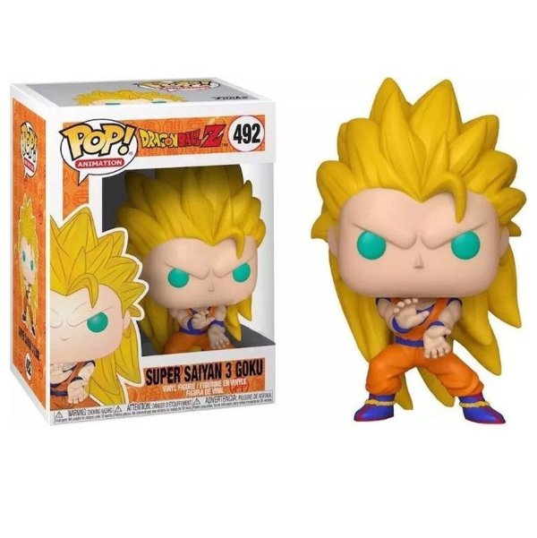 Funko DBZ: Super Saiyan Goku 3 (Excl. Game Stop) Nº492