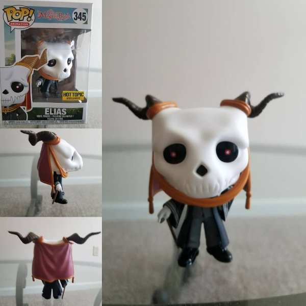 Funko The Ancient Magus Bride: Elias (excl. Hot Topic) nº345