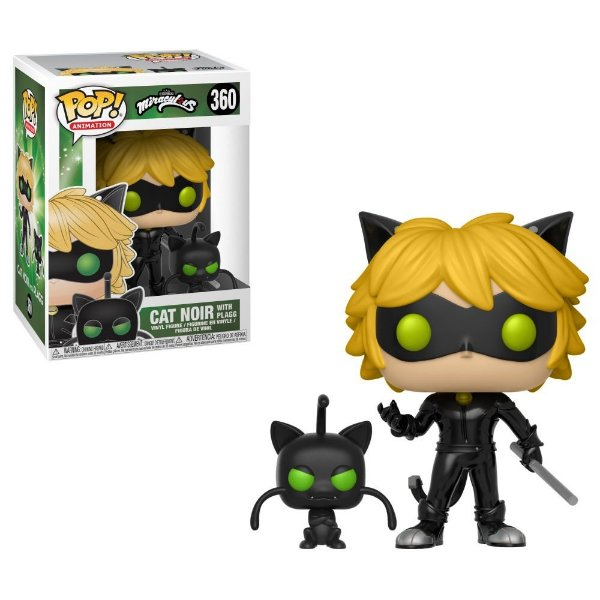 Funko Miraculous: Cat Noir with Plagg  Nº360