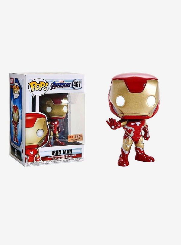 Funko Vingadores Guerra infinita: Homem de Ferro (excl. BoxLunch) Nº467
