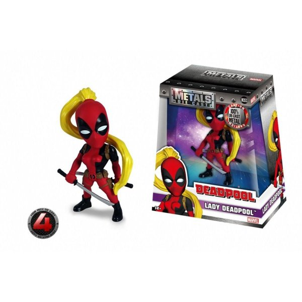 Metals Die Cast Deadpool: Lady Deadpool M353