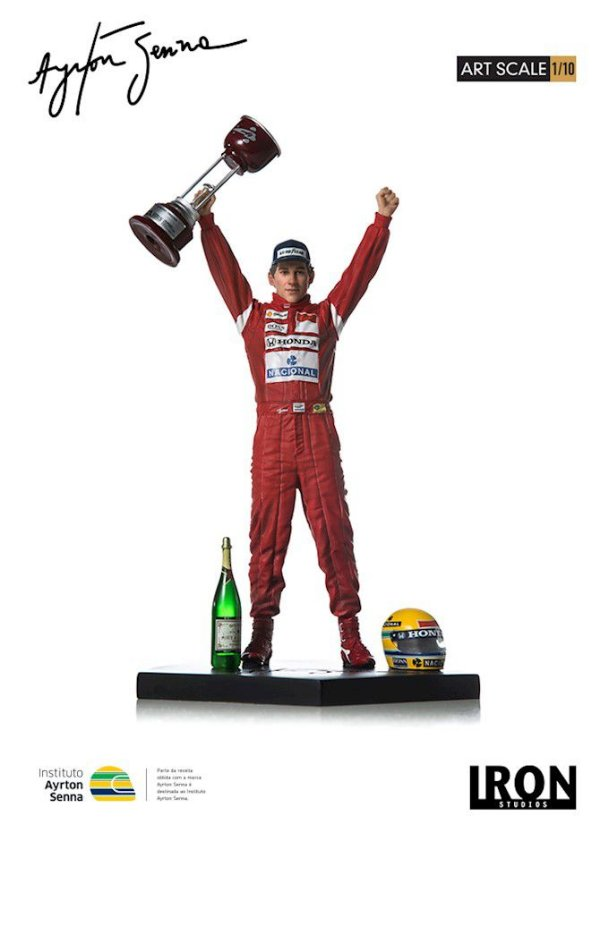 Iron Studios - Ayrton Senna 1988 Japan GP Art Scale 1/10