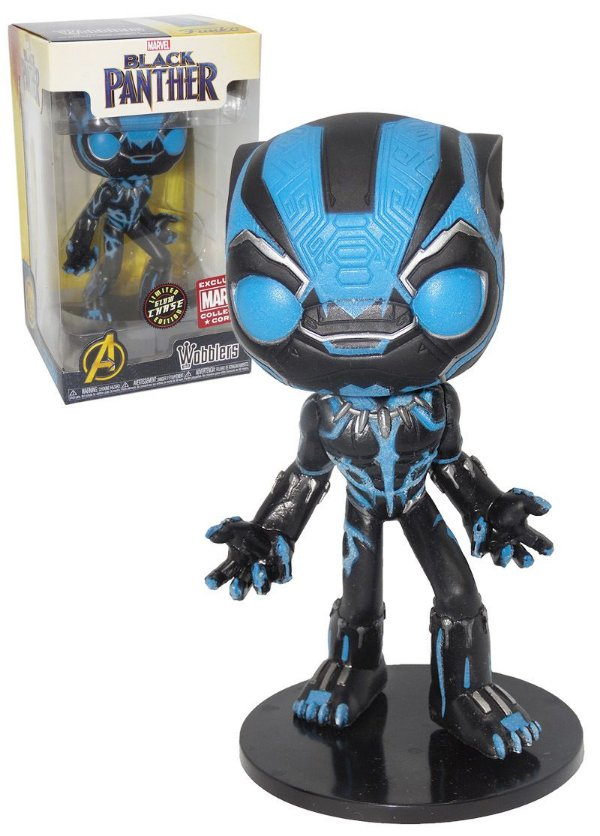 Funko wobbler: Black Panther Chase Collector Corps