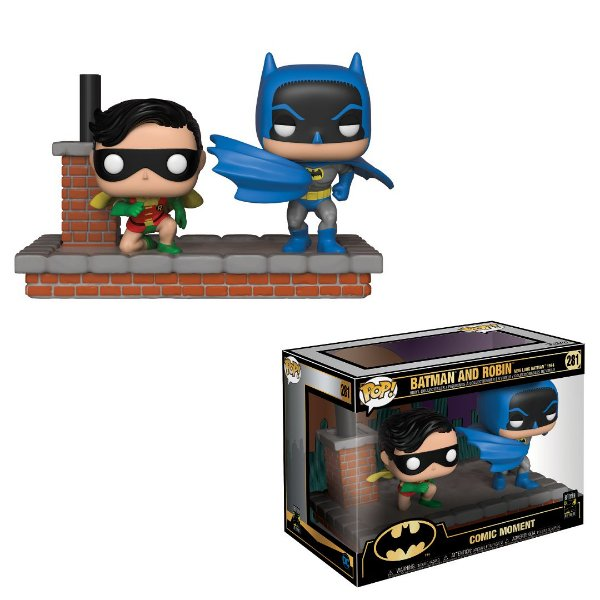 Funko Movie Moments Comic: Batman 1972 80th Anniversary Pop nº 281