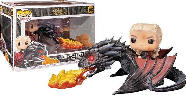 Funko Pop Game Of Thrones: Daenerys & Fiery Drogon  68
