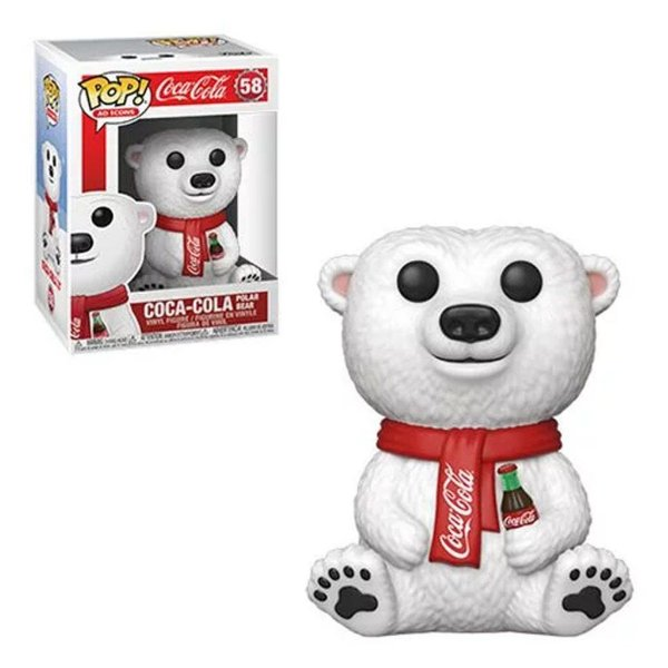 Funko Pop Coca Cola: Coca Cola Polar Bear 58