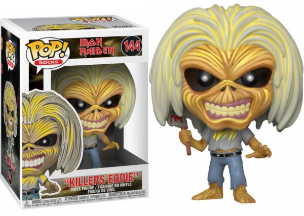 Funko Pop Iron Maiden: Killers Eddie 144