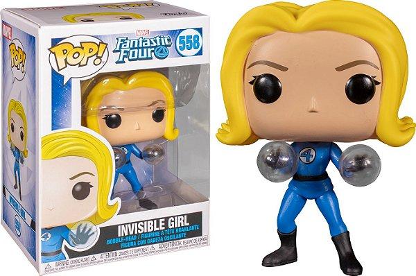 Funko Pop Marvel Fantastic Four: Invisible Girl 558