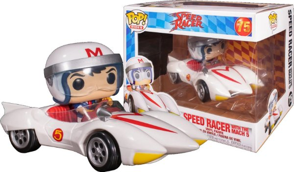 Funko Pop Speed Racer: Speed Racer Com Mach 5 Ride 75