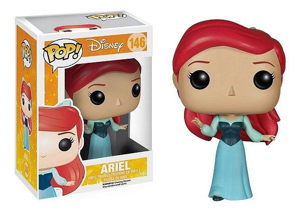 Funko Pop Pequena Sereia: Ariel in Blue Dress 146