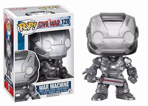 Funko Pop Guerra Civil:  War Machine 128