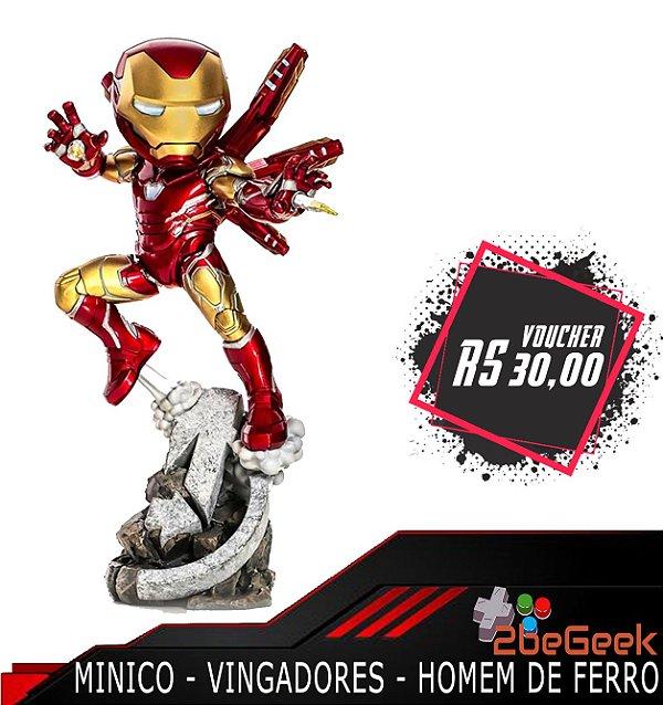 Minico Vingadores Ultimato: Homem de Ferro - Pré-venda