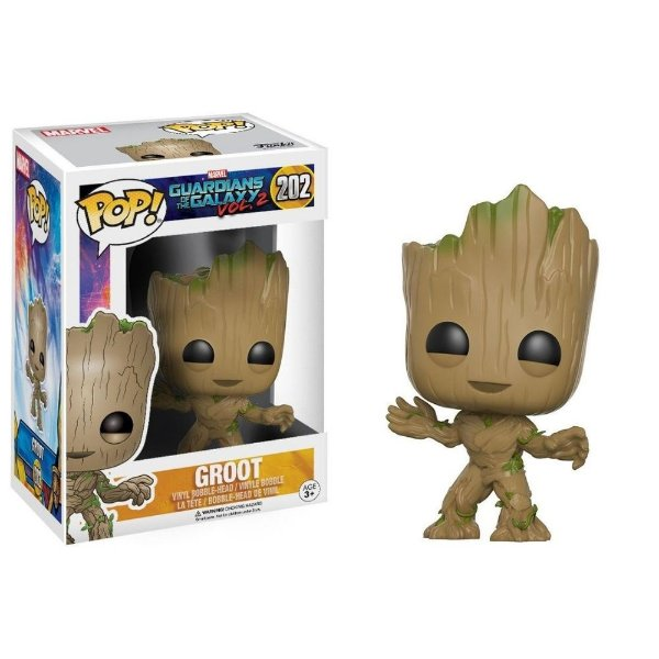 Funko Pop Guardiões da Galaxia 2: Groot 202