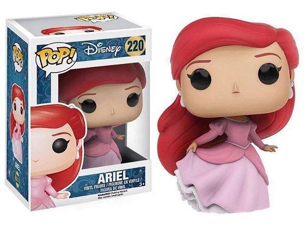 Funko Pop Pequena Sereia: Ariel 220
