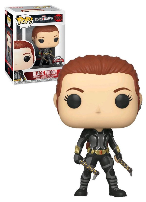 Funko pop Black Widow: Black Widow 609