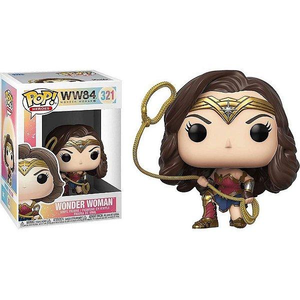 Funko Pop Wonder Woman 1984: Mulher Maravilha 321