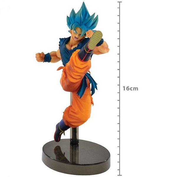 Estatua Dragon Ball Super: Goku Super Sayajin Blue Z Battle Figure
