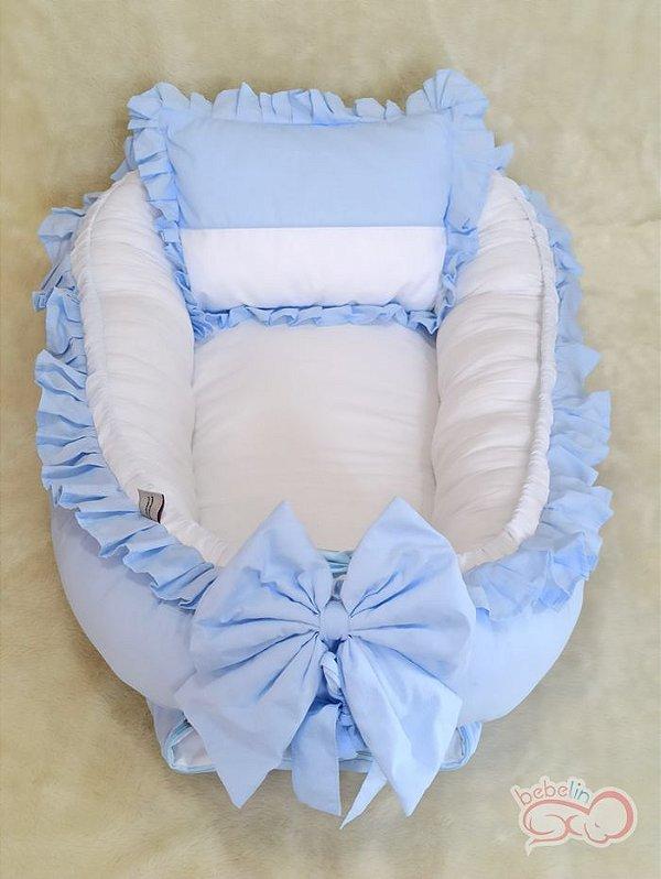 Ninho Redutor Azul com Branco