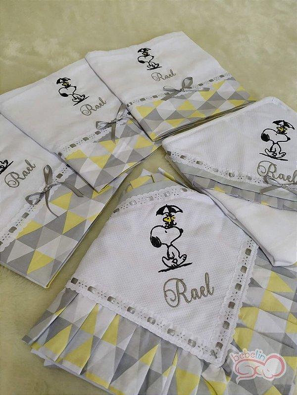 Kit Passeio Snoopy - 5 Peças Personalizado