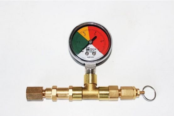 Valvula de alivio regulavel para conectores Ball/Pin - HBS