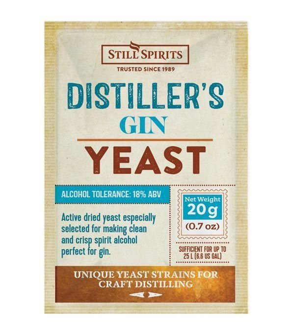 Gin Yeast Still Spirits