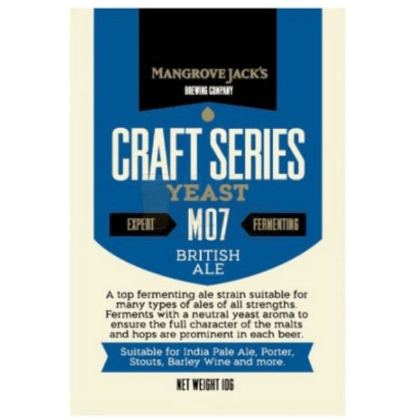 Levedura Mangrove Jacks - British Ale M07