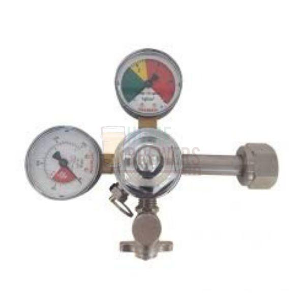 Manômetro Regulador de Pressão CO2 Saída Simples